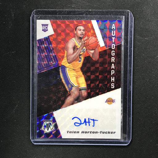 2019-20 Mosaic TALEN HORTON-TUCKER Red Rookie Auto #THT (D)-Cherry Collectables