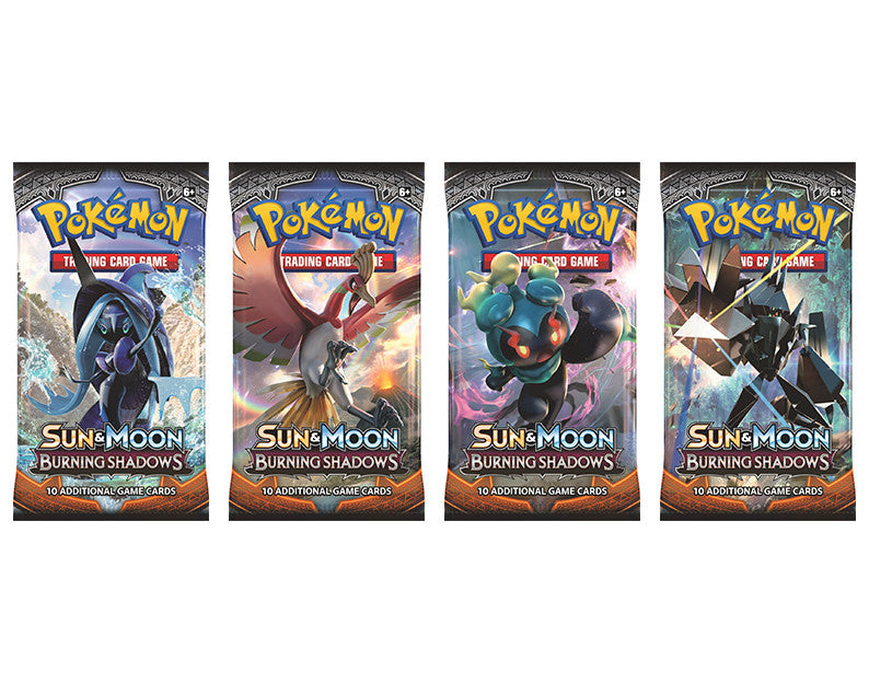 Pokemon TCG Sun & Moon Burning Shadows Booster Pack-Cherry Collectables