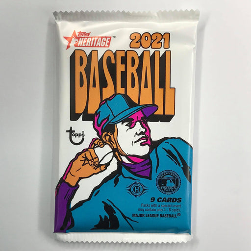 2021 Topps Heritage Baseball Hobby Pack-Cherry Collectables