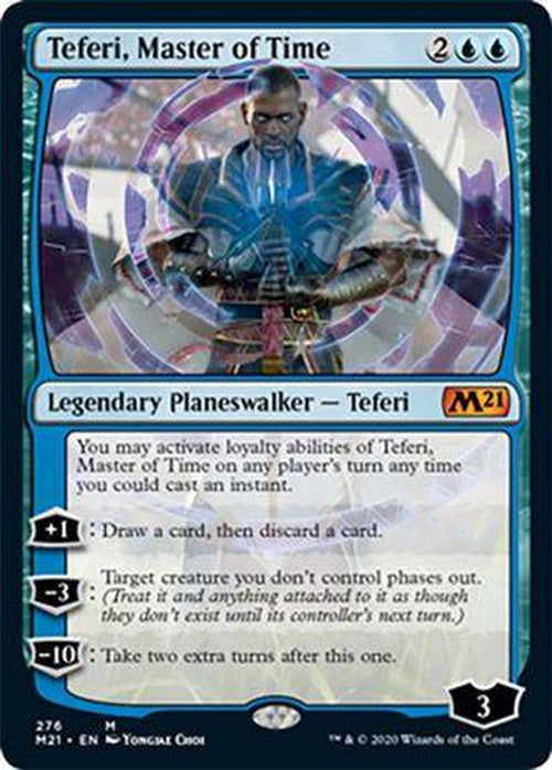 FOIL - Teferi, Master of Time 276 - Core Set 2021-Cherry Collectables