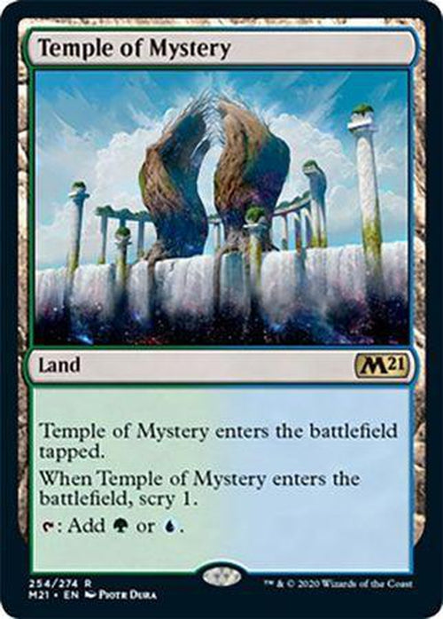 FOIL - Temple of Mystery 254/274 - Core Set 2021-Cherry Collectables