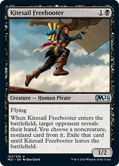 FOIL - Kitesail Freebooter 107/274 - Core Set 2021 - PLAYSET (4)-Cherry Collectables