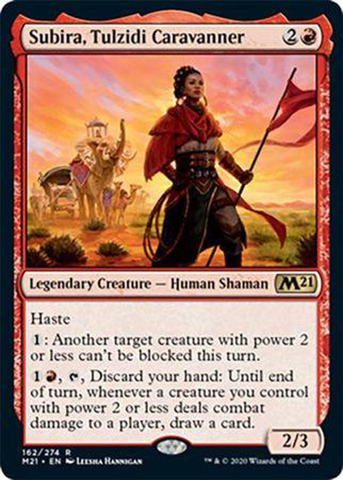 FOIL - Subira, Tulzidi Caravanner 162/274 - Core Set 2021-Cherry Collectables