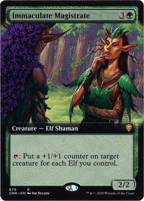 EXTENDED ART Immaculate Magistrate 679 - Commander Legends-Cherry Collectables