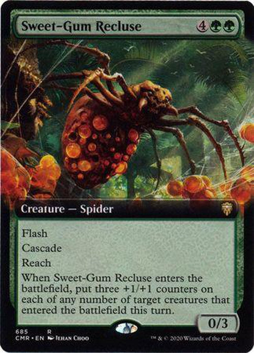 EXTENDED ART Sweet-Gum Recluse 685 - Commander Legends-Cherry Collectables
