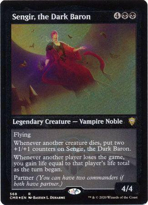 ETCHED FOIL Sengir, the Dark Baron 568 - Commander Legends-Cherry Collectables