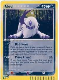 Absol - 1/97 - Holo Rare-Cherry Collectables