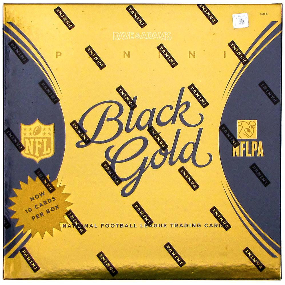 2015 Panini Black Gold Football Hobby Box-Cherry Collectables
