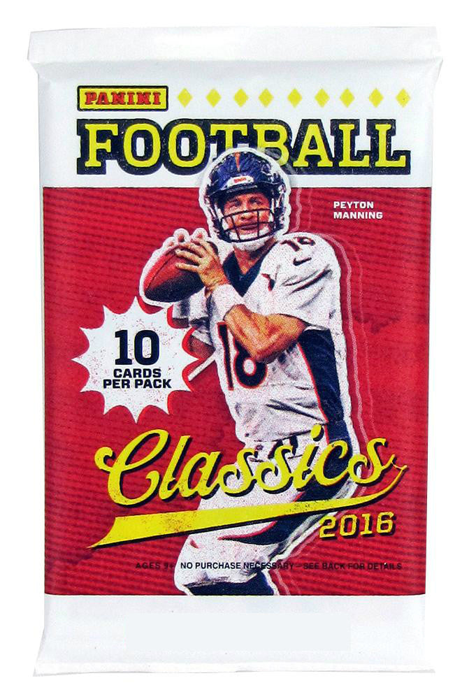 2016 Panini Classics Football Hobby Pack-Cherry Collectables