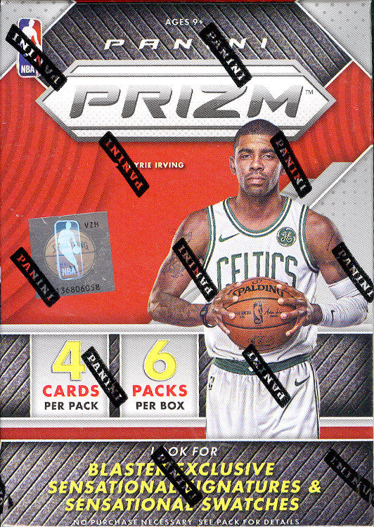 2017-18 Panini Prizm Basketball 6-Pack Blaster Box-Cherry Collectables