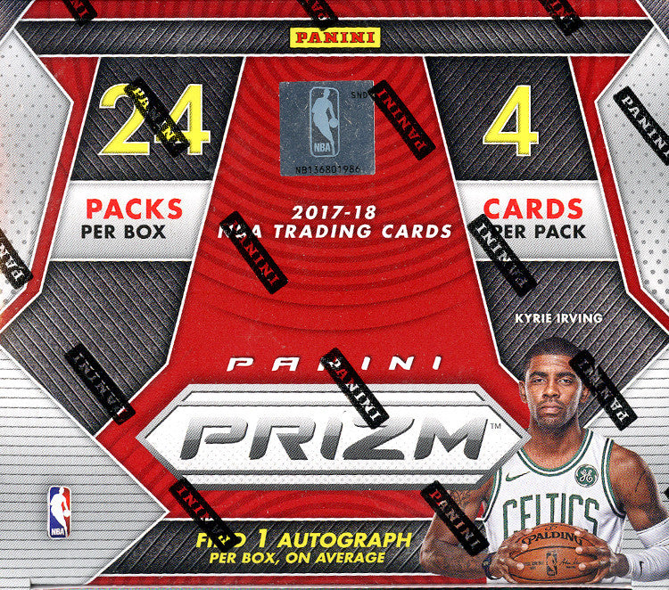 2017-18 Panini Prizm Basketball 24ct Retail Box-Cherry Collectables