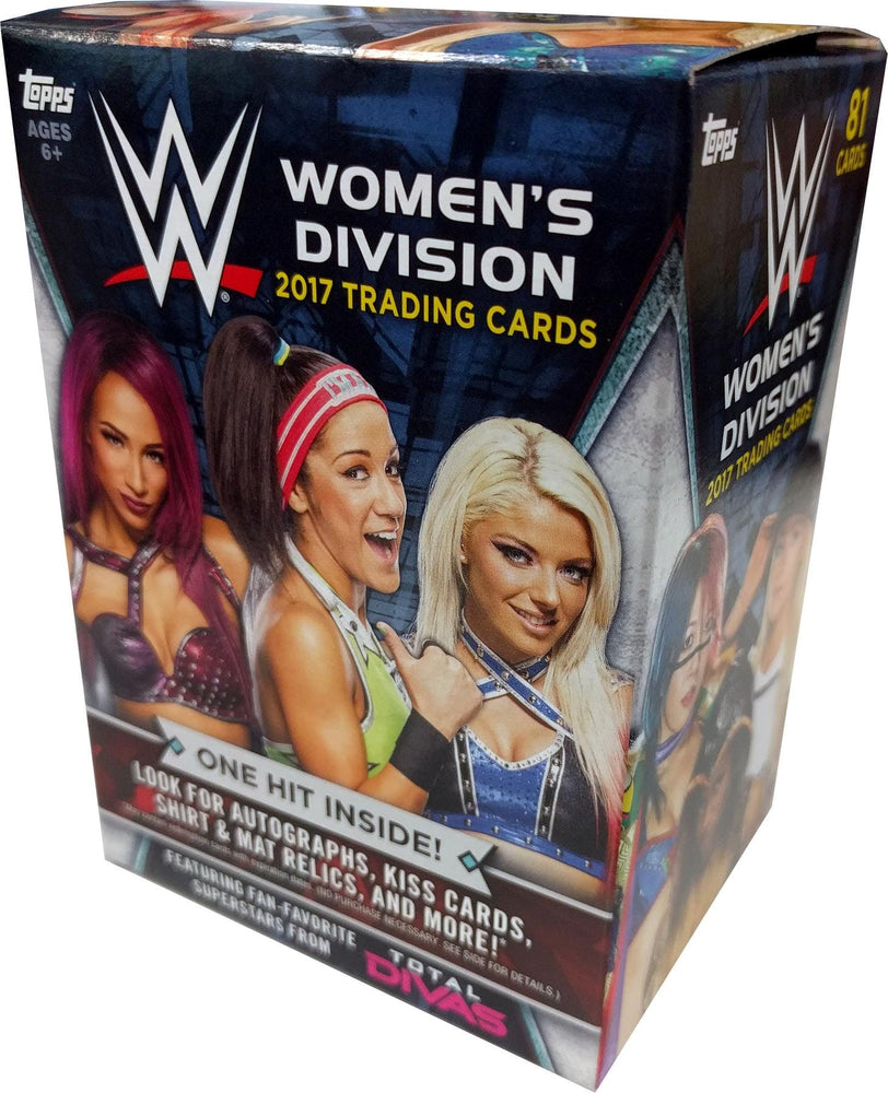 2017 Topps WWE Women's Division Wrestling 81-Card Blaster Box-Cherry Collectables