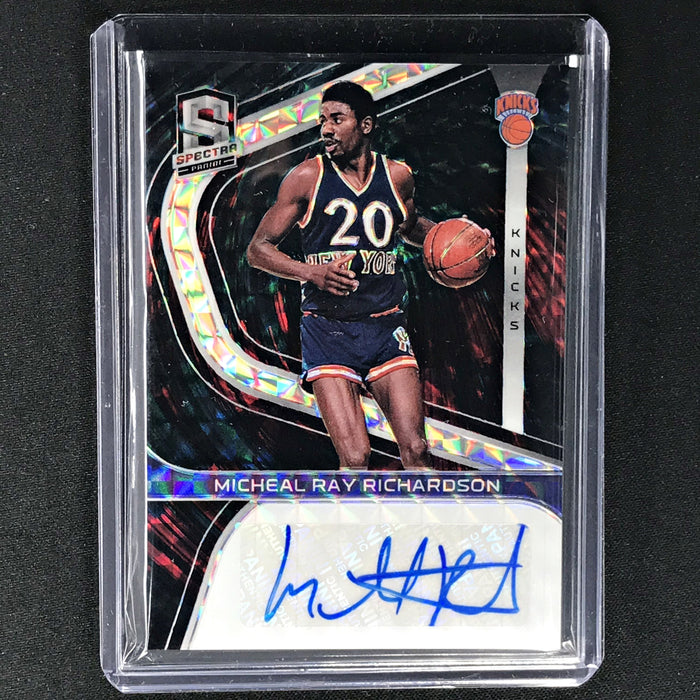 2019-20 Spectra MICHAEL RAY RICHARDSON Signatures Intersellar Auto 34/49-Cherry Collectables