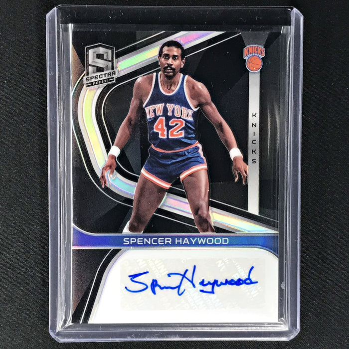 2019-20 Spectra SPENCER HAYWOOD Signatures Silver Auto 56/99-Cherry Collectables