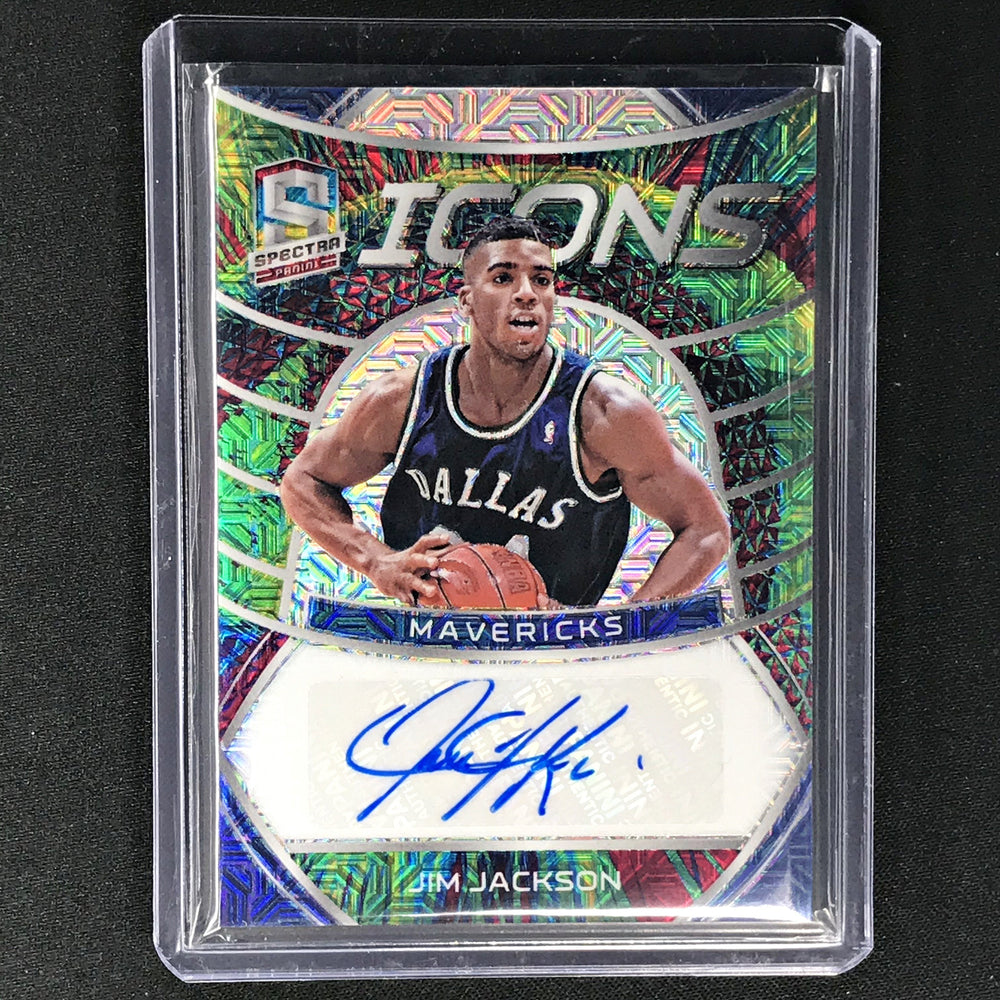 2019-20 Spectra JIM JACKSON Icons Meta Auto 3/25-Cherry Collectables