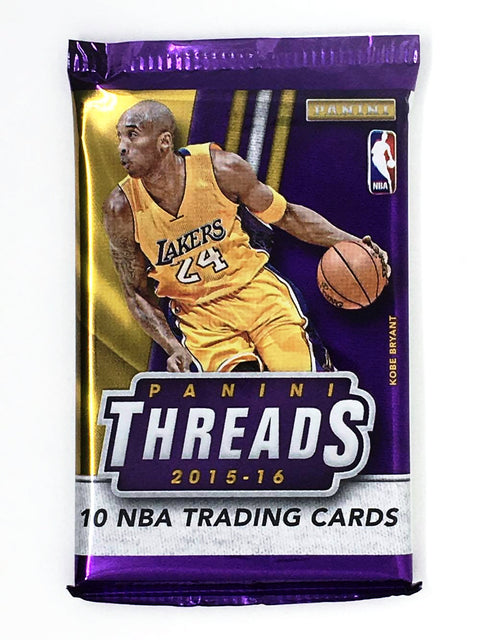 2015/16 Panini Threads Premium Basketball Hobby Pack-Cherry Collectables