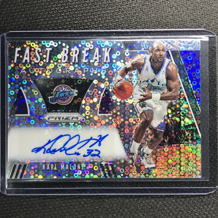 2019-20 Prizm KARL MALONE Fast Break Autographs #KML-Cherry Collectables