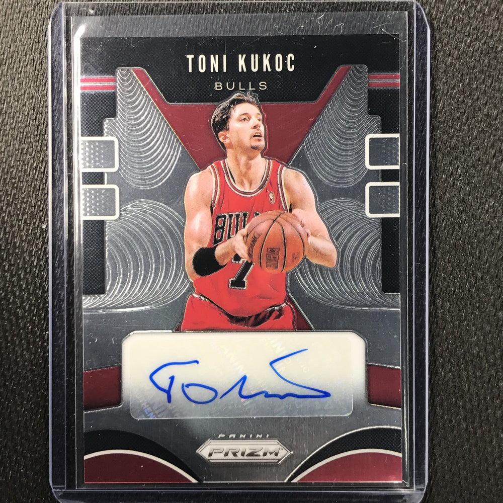 2019-20 Prizm TONI KUKOC Prizm Auto #TKC #4-Cherry Collectables