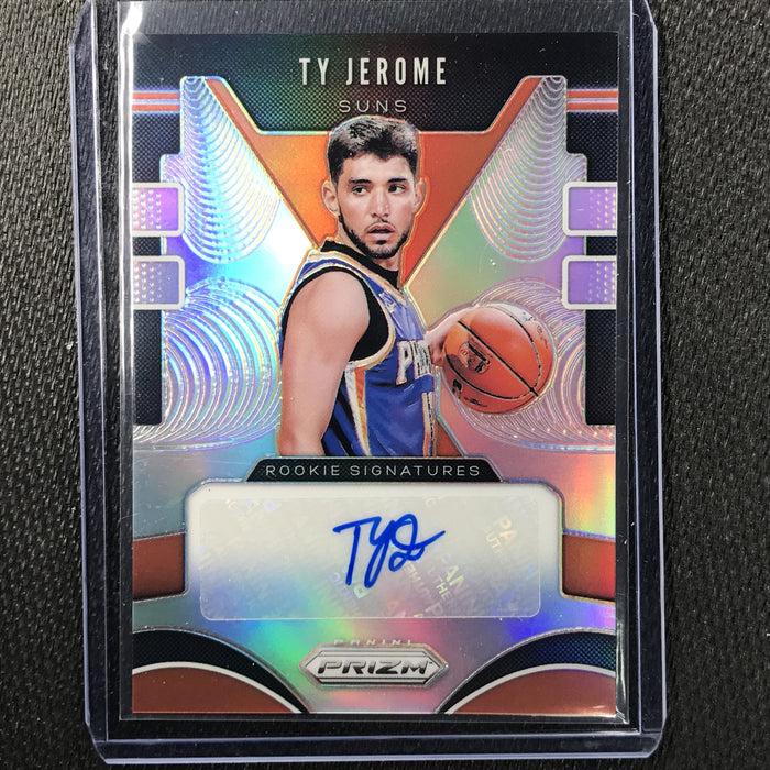 2019-20 Prizm TY JEROME Silver Prizm Rookie Auto #TJR #4-Cherry Collectables