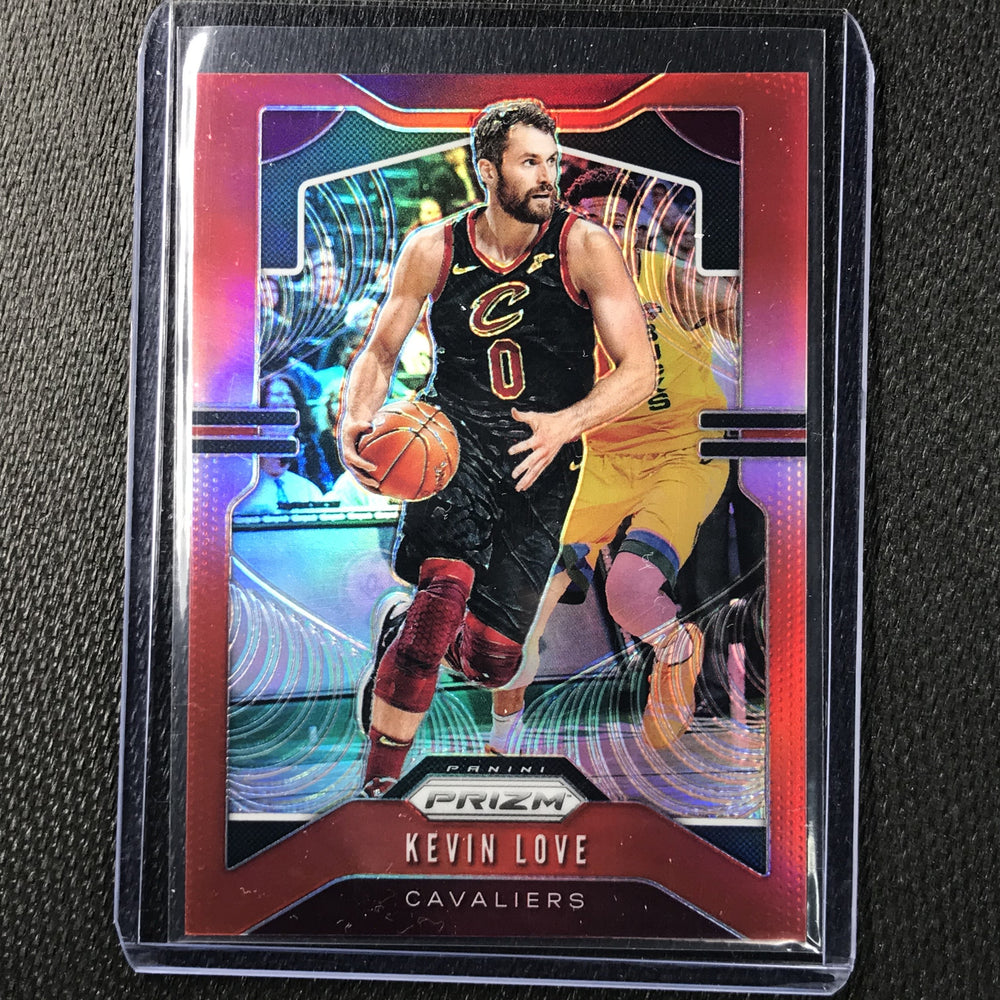 2019-20 Prizm KEVIN LOVE Red Prizm /299 #68-Cherry Collectables