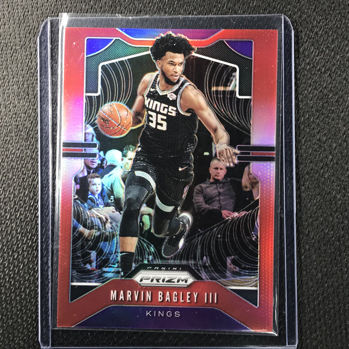 2019-20 Prizm MARVIN BAGLEY III Red Prizm /299 #121-Cherry Collectables