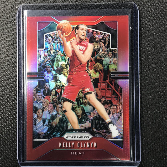 2019-20 Prizm KELLY OLYNYK Red Prizm /299 #146-Cherry Collectables