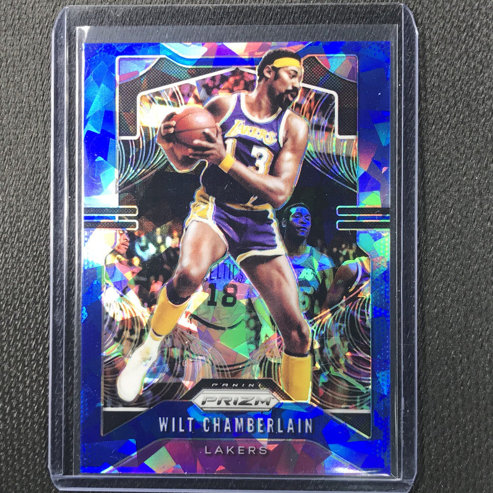 2019-20 Prizm WILT CHAMBERLAIN Blue Ice Prizm /99 #18-Cherry Collectables