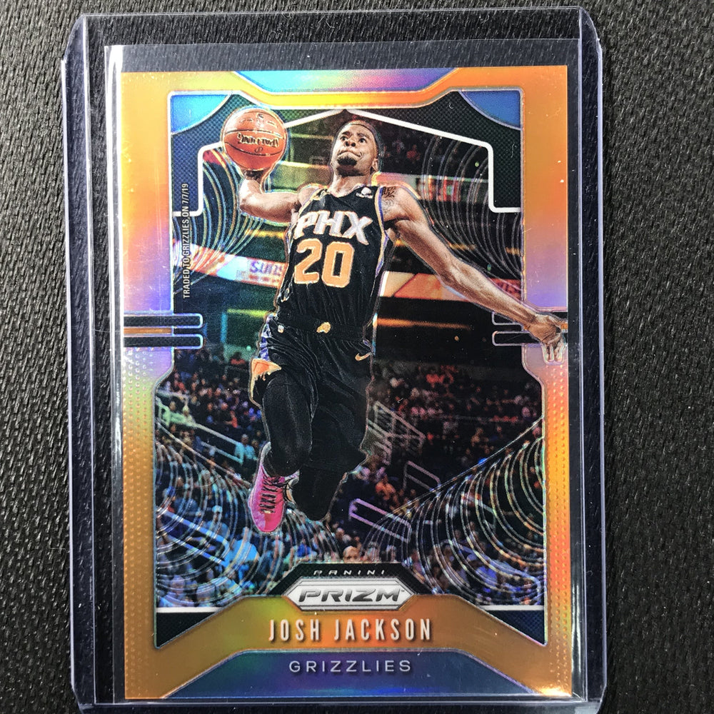 2019-20 Prizm JOSH JACKSON Orange Prizm 13/49-Cherry Collectables