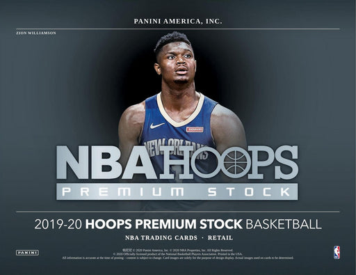 2019-20 Panini Hoops Premium Stock Basketball Multi Pack Box (Pre Order Jan 2021)-Cherry Collectables