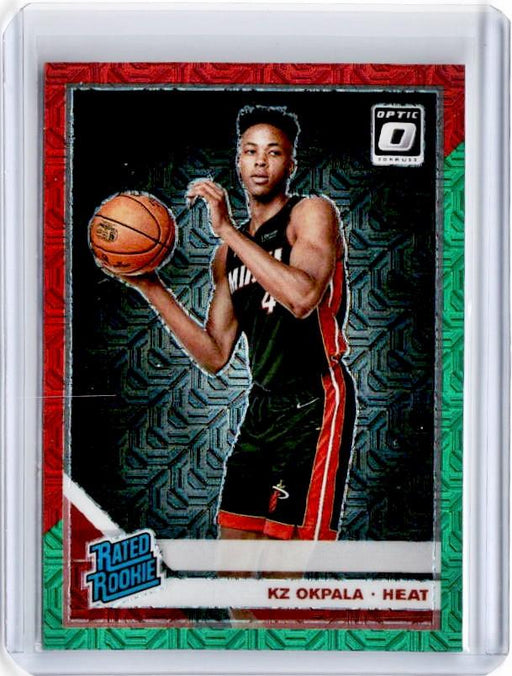 2019-20 Optic KZ OKPALA Rated Rookie Choice Red Green Prizm #189-Cherry Collectables