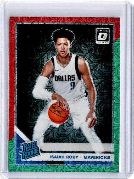 2019-20 Optic ISAIAH ROBY Rated Rookie Choice Red Green Prizm #191-Cherry Collectables