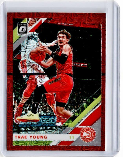 2019-20 Optic TRAE YOUNG Choice Red Prizm /88 #2-Cherry Collectables