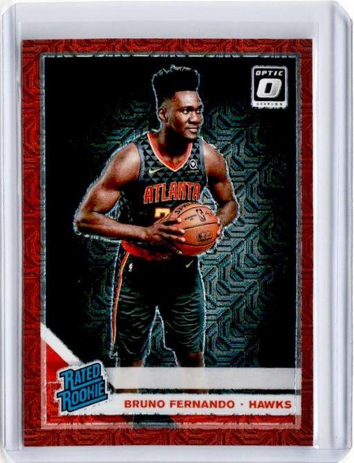2019-20 Optic BRUNO FERNANDO Rated Rookie Choice Red Prizm /88 #177-Cherry Collectables