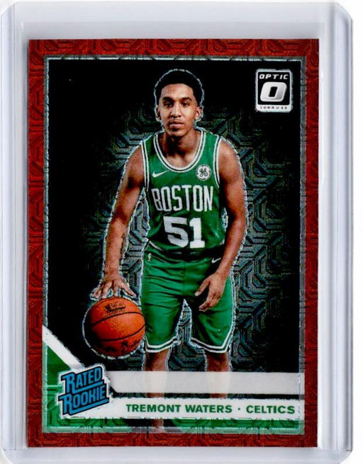 2019-20 Optic TREMONT WATERS Rated Rookie Choice Red Prizm /88 #185-Cherry Collectables