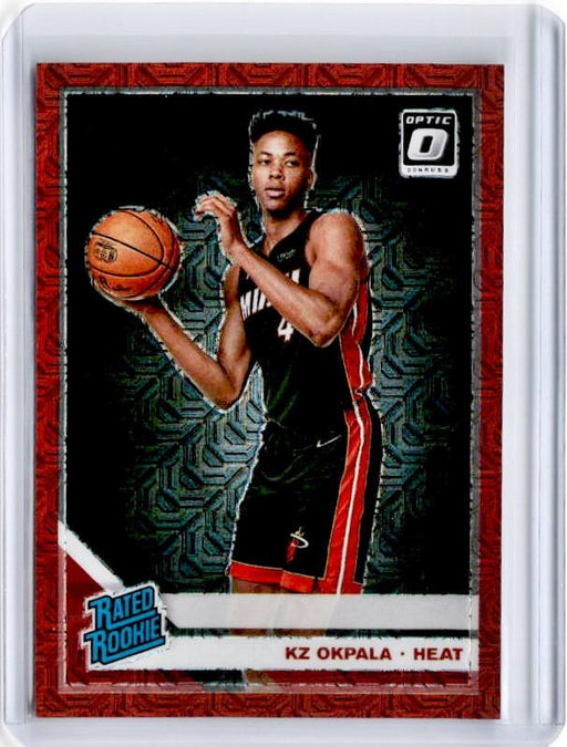 2019-20 Optic KZ OKPALA Rated Rookie Choice Red Prizm /88 #189-Cherry Collectables
