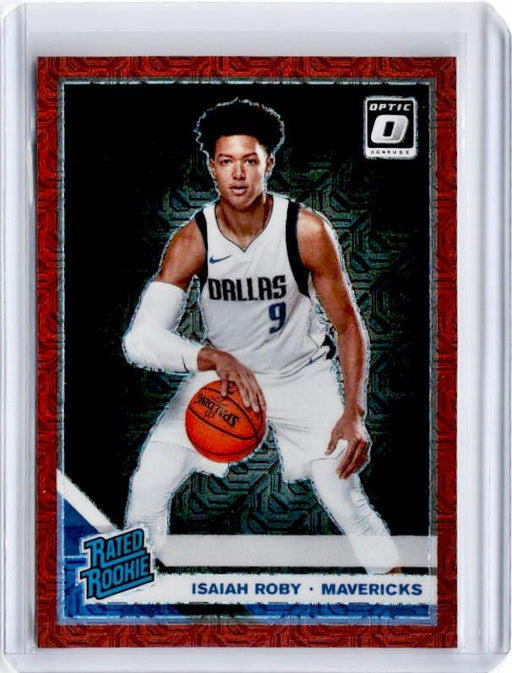 2019-20 Optic ISAIAH ROBY Rated Rookie Choice Red Prizm /88 #191-Cherry Collectables