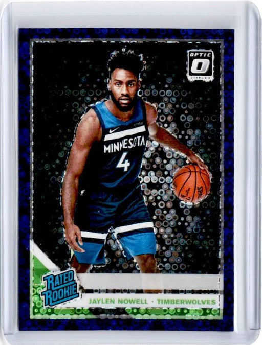 2019-20 Optic Fast Break JAYLEN NOWELL Rated Rookie Purple Prizm 80/95-Cherry Collectables