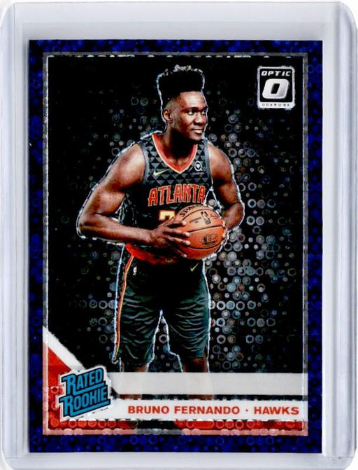 2019-20 Optic Fast Break BRUNO FERNANDO Rated Rookie Purple Prizm 94/95-Cherry Collectables