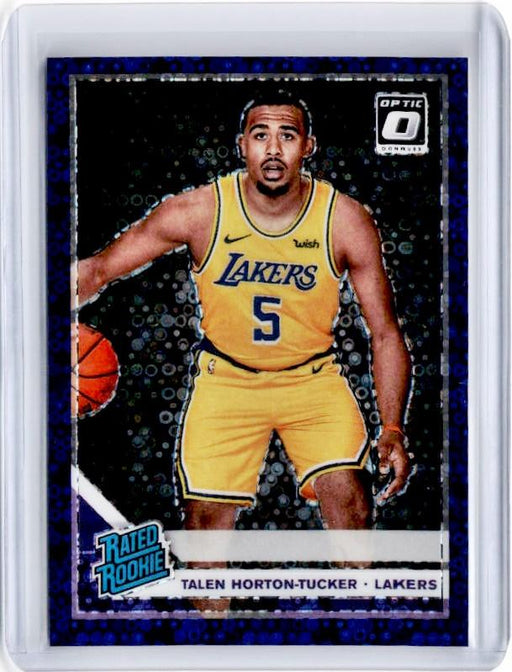 2019-20 Optic Fast Break TALEN HORTON TUCKER Rated Rookie Purple Prizm 45/95-Cherry Collectables