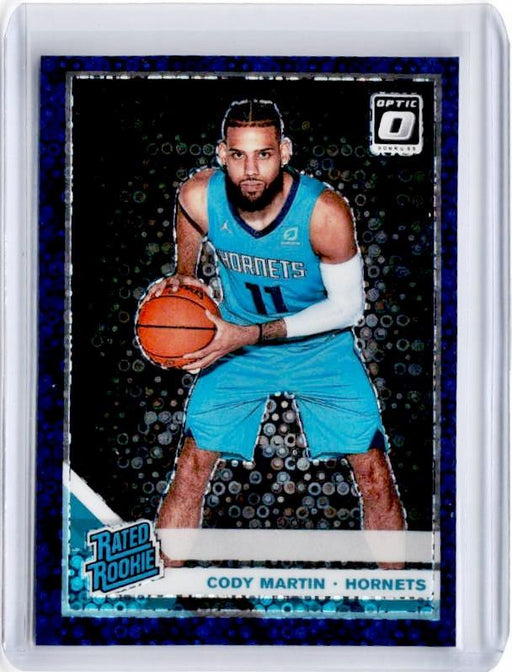 2019-20 Optic Fast Break CODY MARTIN Rated Rookie Purple Prizm 55/95-Cherry Collectables