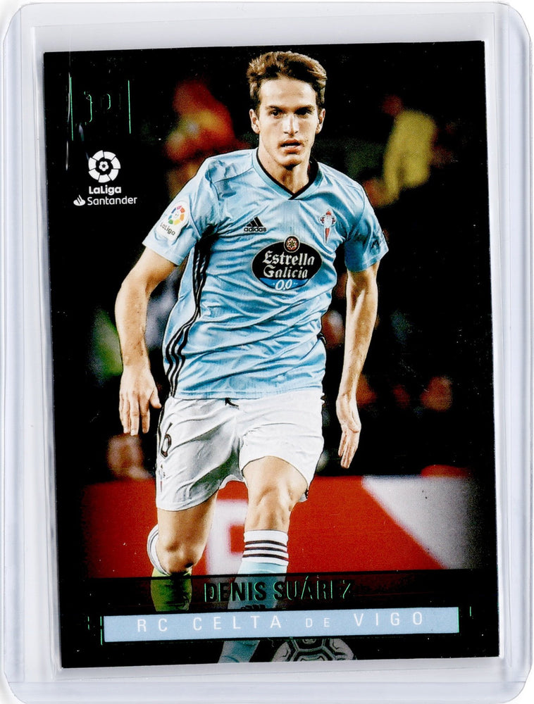 2019-20 Chronicles Soccer DENIS SUAREZ Panini Base Green #426-Cherry Collectables