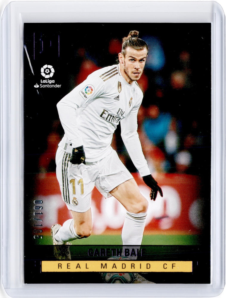 2019-20 Chronicles Soccer GARETH BALE Panini Base Purple 61/105-Cherry Collectables