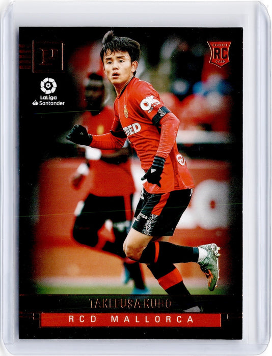 2019-20 Chronicles Soccer TAKEFUSA KUBO Base Bronze Rookie #400-Cherry Collectables