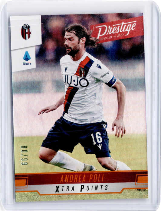 2019-20 Chronicles Soccer ANDREA POLI Prestige Xtra Points Orange 80/99-Cherry Collectables