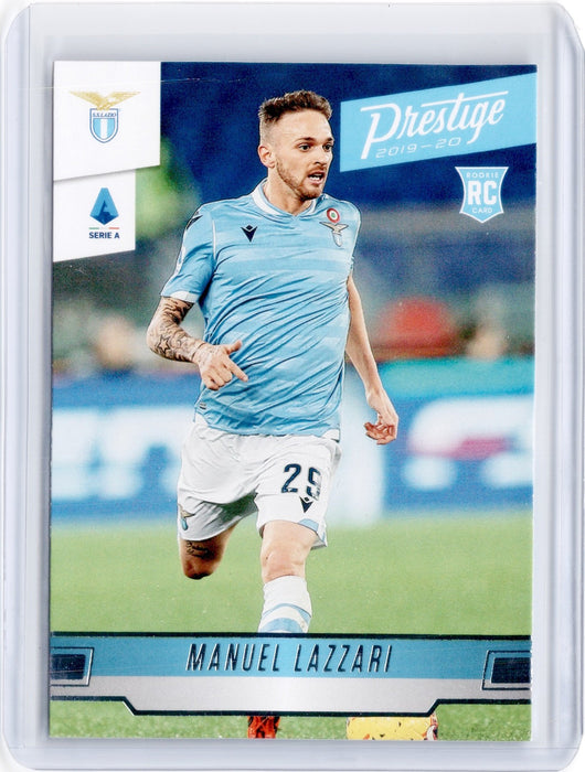 2019-20 Chronicles Soccer MANUEL LAZZARI Prestige Rookie #249-Cherry Collectables