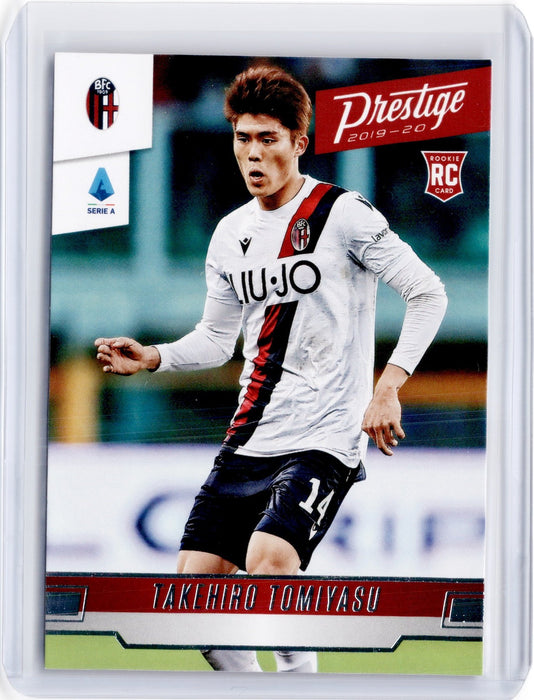 2019-20 Chronicles Soccer TAKEHIRO TOMIYASU Prestige Rookie #210-Cherry Collectables