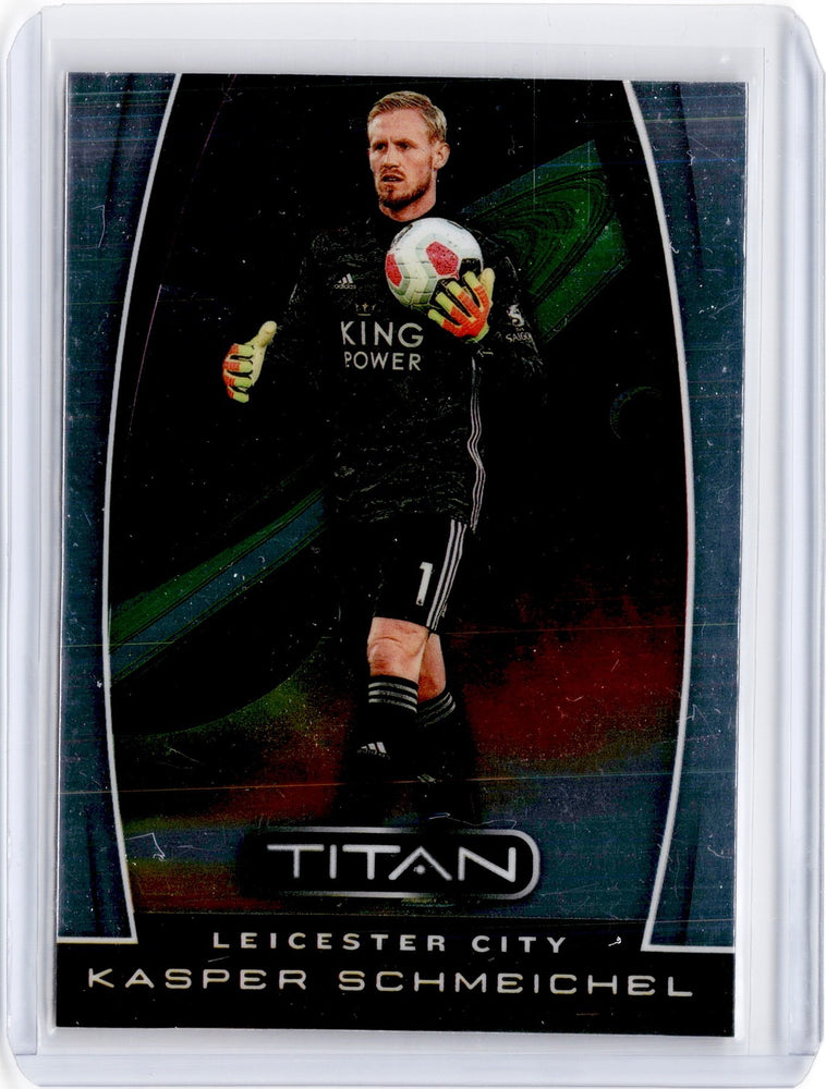 2019-20 Chronicles Soccer KASPER SCHMEICHEL Titan #9-Cherry Collectables