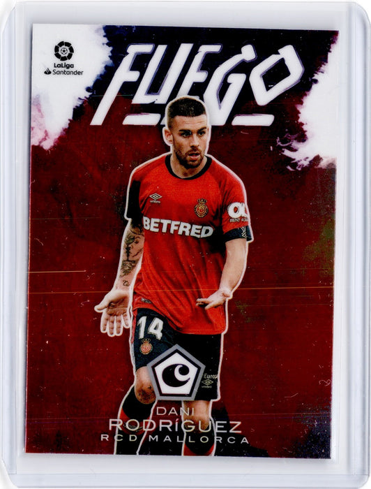 2019-20 Chronicles Soccer DANI RODRIGUEZ Fuego #12-Cherry Collectables