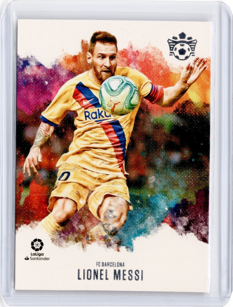 2019-20 Chronicles Soccer LIONEL MESSI Pitch Kings #1-Cherry Collectables