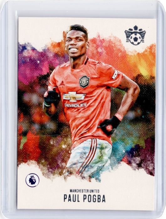 2019-20 Chronicles Soccer PAUL POGBA Pitch Kings #6-Cherry Collectables